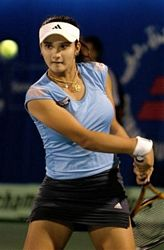 Tennis Player Mirza Photo Gallery